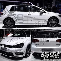 for volkswagen golf 7 golf 6 body decoration modified personalized custom sports appearance decals