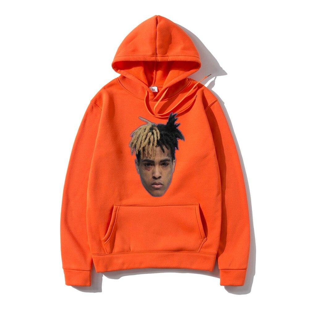 Xxxtentacion Revenge Hoodies Men/Women Sweatshirts Rapper Hip Hop Hooded Pullover sweatershirts male/Women Streetwear недорого
