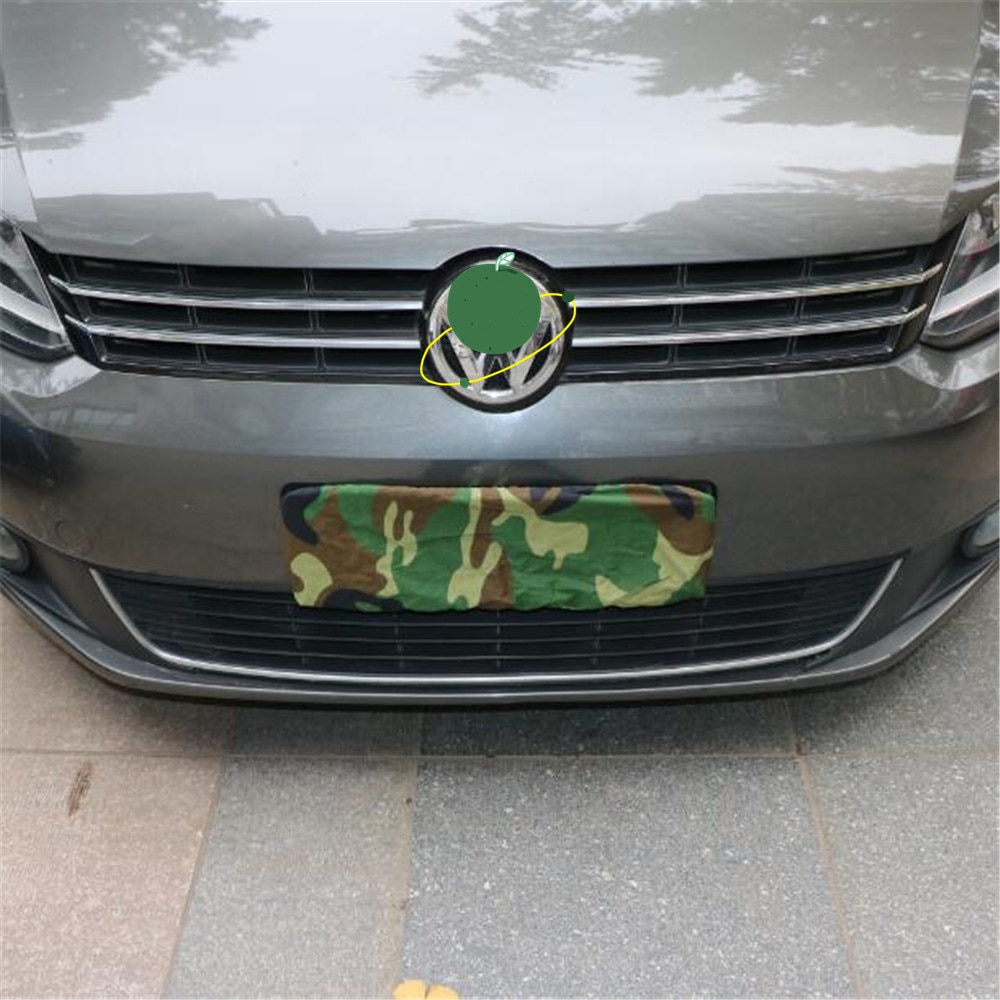 Camouflage car license plate cover dust cover license plate cover license plate cloth license plate cover