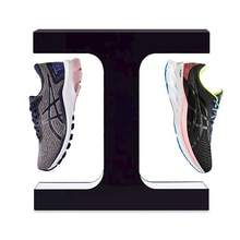 The New Fashion Magnetic Levitation Sports Rotating Shoe Display Stand Can Hold 300-500g Creative Shoe Rack Floating Stand