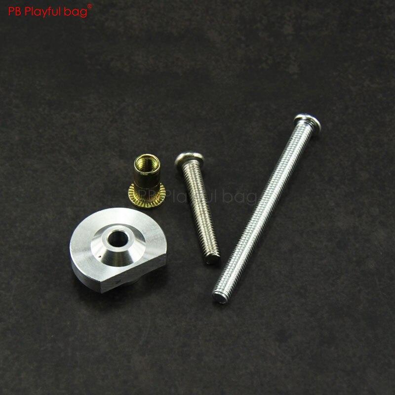 Saco brincalhão ao ar livre cs jinming 9 jingji slr buffer tubo parafuso acessórios gel bola arma buffer tubo atualização material peças qf48