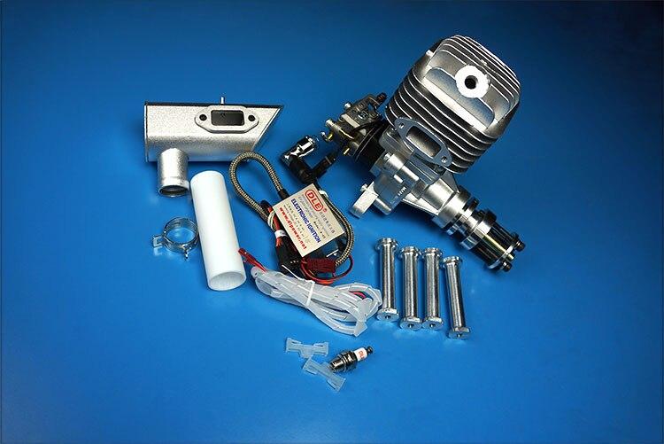 Motor de GAS original DLE 55 55CC para modelo de avión RC, superventas, DLE,DLE55CC,DLE-55CC
