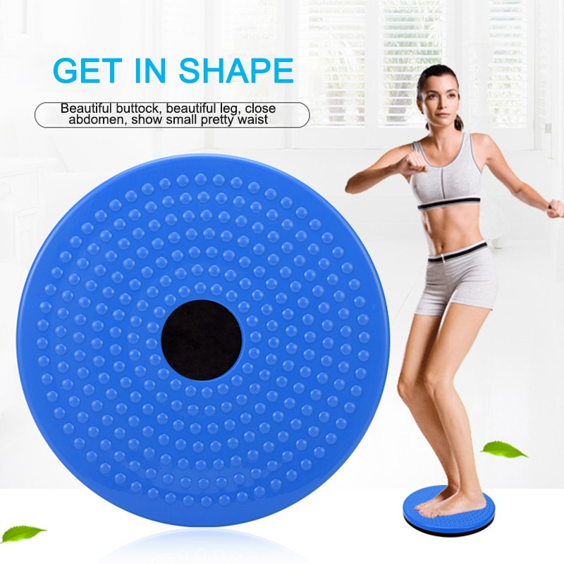 Magnetic Massage Plate Waist Twisting Disc Fitness Exercise Accessories Portable Home Sports Plate Exercise Wobble Twisting Disc 37cm universal healthy wobble balance board stability disc yoga sport training fitness exercise waist wriggling round plate game