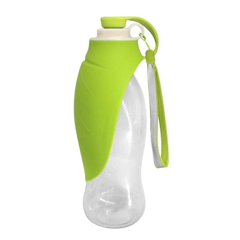 650 мл силиконовая Спортивная портативная бутылка для воды для собак портативная складная дорожная собачья миска для щенка кошки Питьевая уличная бутылка для воды