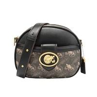 new versatile one shoulder cross body bag french texture niche design vintage carriage handbag two wide strap bag for women