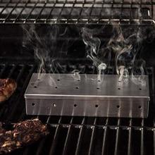Accessoires Barbecue fumoir inox boite a fumée froide Barbecue boite a fumée inox Barbecue Grill fumage