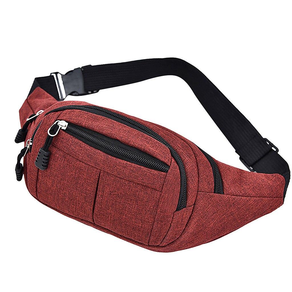 Мужская нагрудная сумка, Водонепроницаемая спортивная сумка для улицы, Холщовая Сумка, забавная сумка через плечо, мужская сумка-бананка, п...