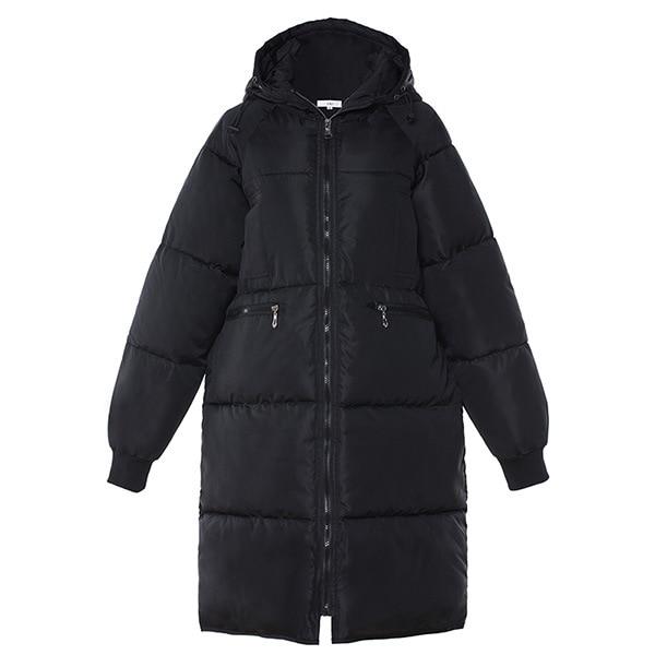 Wywan 2020 inverno marca de moda grossas mulheres inverno bio para baixo jaquetas com capuz parkas casacos feminino plus size 5xl 6xl