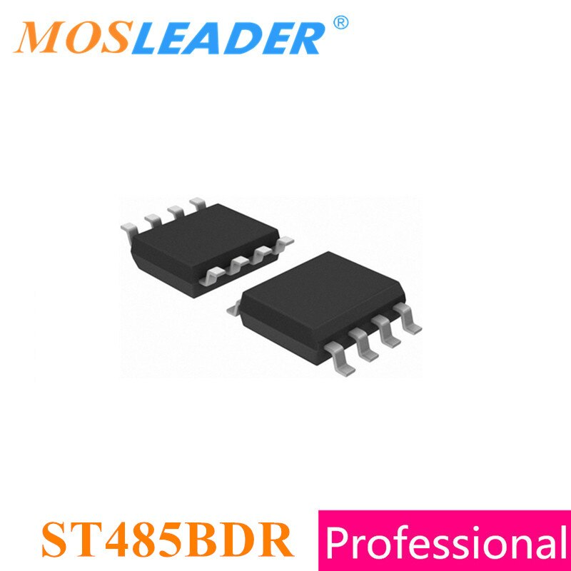 Mosleader ST485BDR SOP8 100 Uds ST485B ST485 transceptor de RS-485 de baja potencia hecho en China de alta calidad como la calidad común original