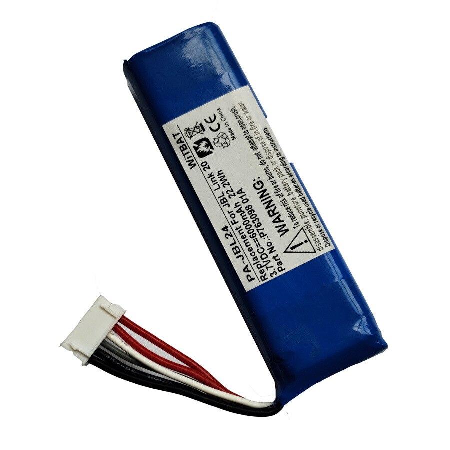 6000mah bateria para jbl link 20, p763098 01a