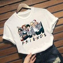 2021 anime My Hero Academia Tees Men Tops T-shirt manga Katsuki Bakugou  Harajuku Unisex Tshirt Male 90s