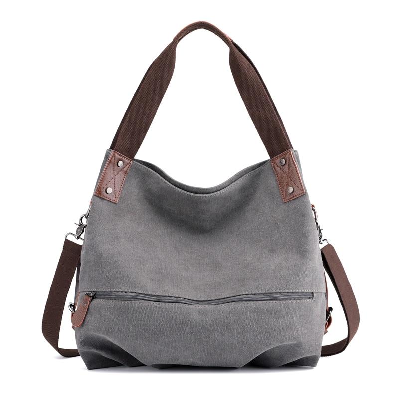 2020 Women Handbag Canvas Female Shoulder Bags Designer Women's Messenger Bags Ladies Casual Bags Clutch Purse Crossbody Purse