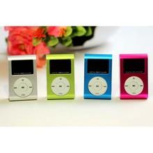 LCD Screen Music Media 3.5mm Stereo Jack Mini Practical USB Clip MP3 Music Player Micro LCD Screen M