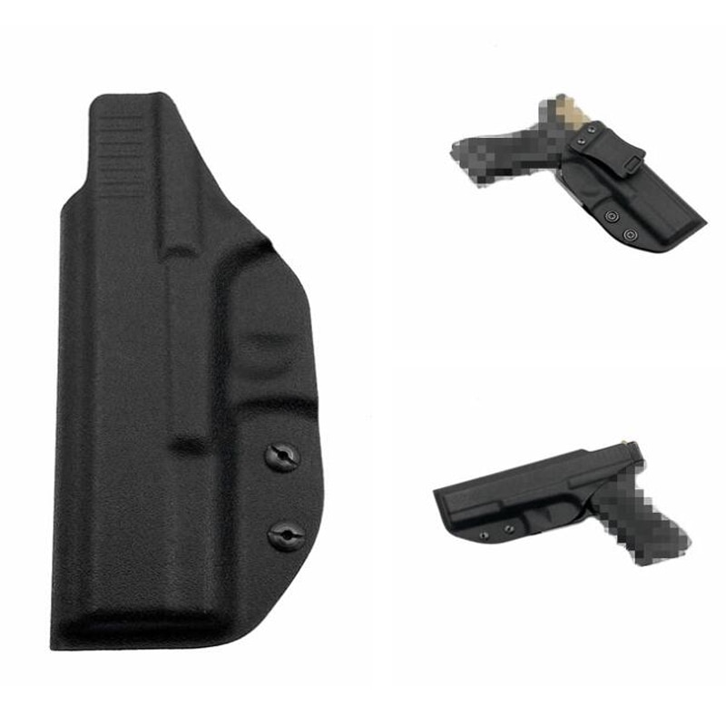 Glock táctico 17 22 31 cintura pistolera encubierta ewb Kydex pistolera pistola cinturón funda para Glock Pistol Case