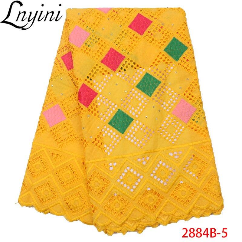 Żółty kolor mleczna jedwabna koronkowa tkanina wyszywana kamieniami nigeryjska afrykańska sucha koronka do ślubnej sukni ślubnej afrykańskie tkaniny koronkowe L2884B