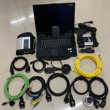 Pour BMW ICOM NEXT A + B + C Diagnostic et programmeur pour MB Star C4 2in1 outil de Diagnostic avec 1 to SSD dans CF52 ordinateur portable courir rapidement
