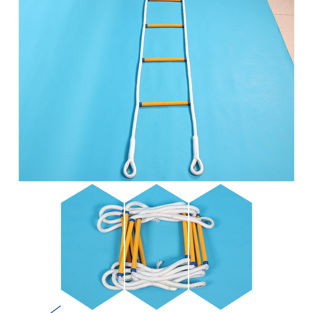 5M Agility Speed Ladder Football Training Equipment Basketball Training  Ladder Step Training Ladder for Athletes Sports Fitness
