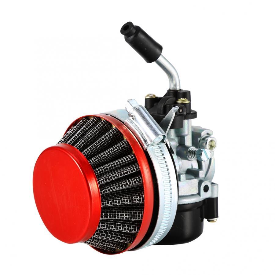 Carburador de carreras para motor de 2 tiempos Bicicleta Motorizada ATV Quad 40cc 50cc 80cc accesorios de motocicleta