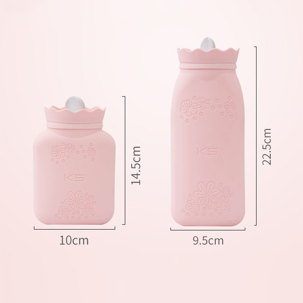 Hand Warmer Hot Water Bag Warm Bottle Microwave Silicon Termofor Gumowy Kids Foot Neck Outdoor Heating Freezer Colding enlarge