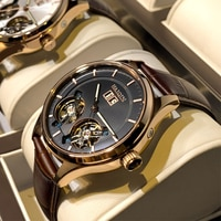 HAIQIN Men's watches Mens Watches top brand luxury Automatic mechanical sport watch men wirstwatch Tourbillon Reloj hombres 2020