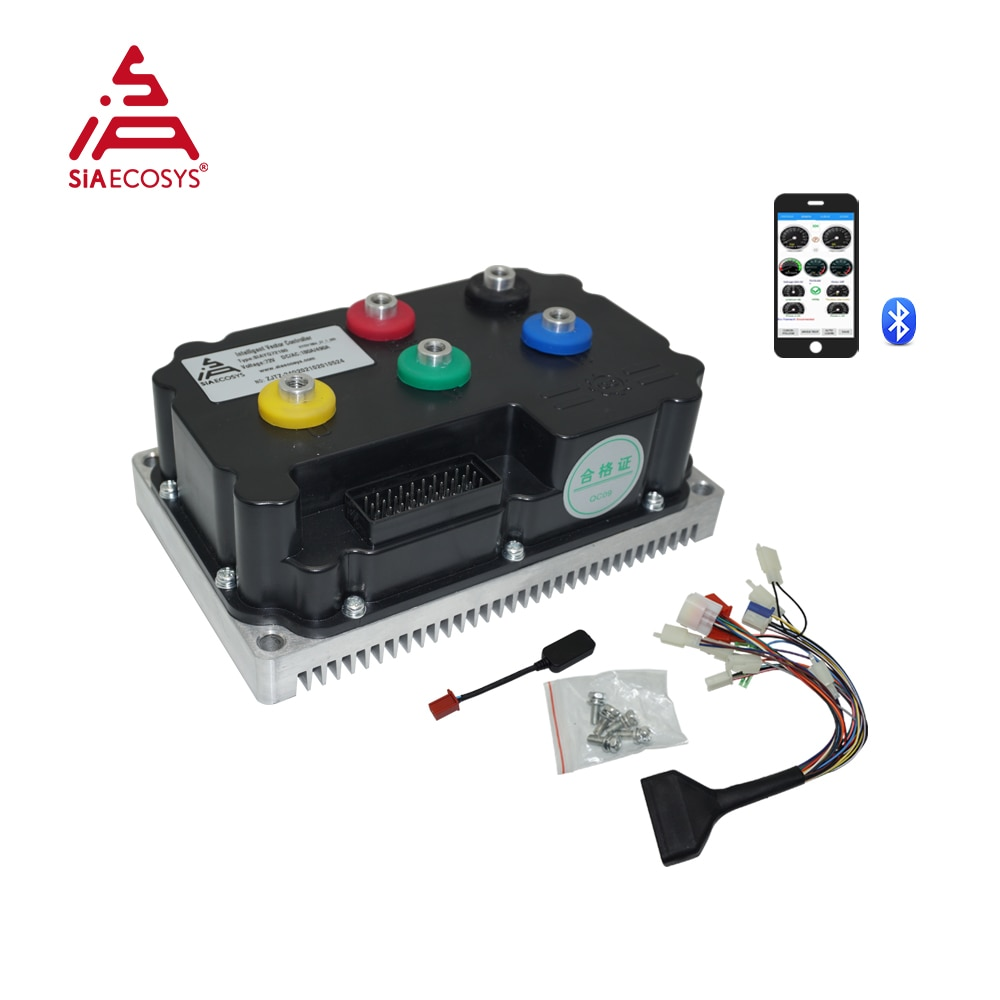 New SiAECOSYS Programmable SIAYQ72180 72V 180A Far Driver Controller For High Power Electric Scooter Bike