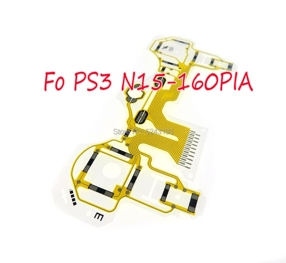 Controlador de película conductora con vibración de N15-160PIA Original 30 Uds cinta tabla circuito para controlador PS3 Dualshock 3
