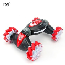 NYR RC Remote Control Twist Stunt Car Off-Road Vechile Gift Light Music Drift Dancing Toy for Kids