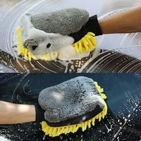 car wash mitt cleaning tools coral mitt soft anti scratch for auto detailing sponge detail clean brush car wax detailing brush