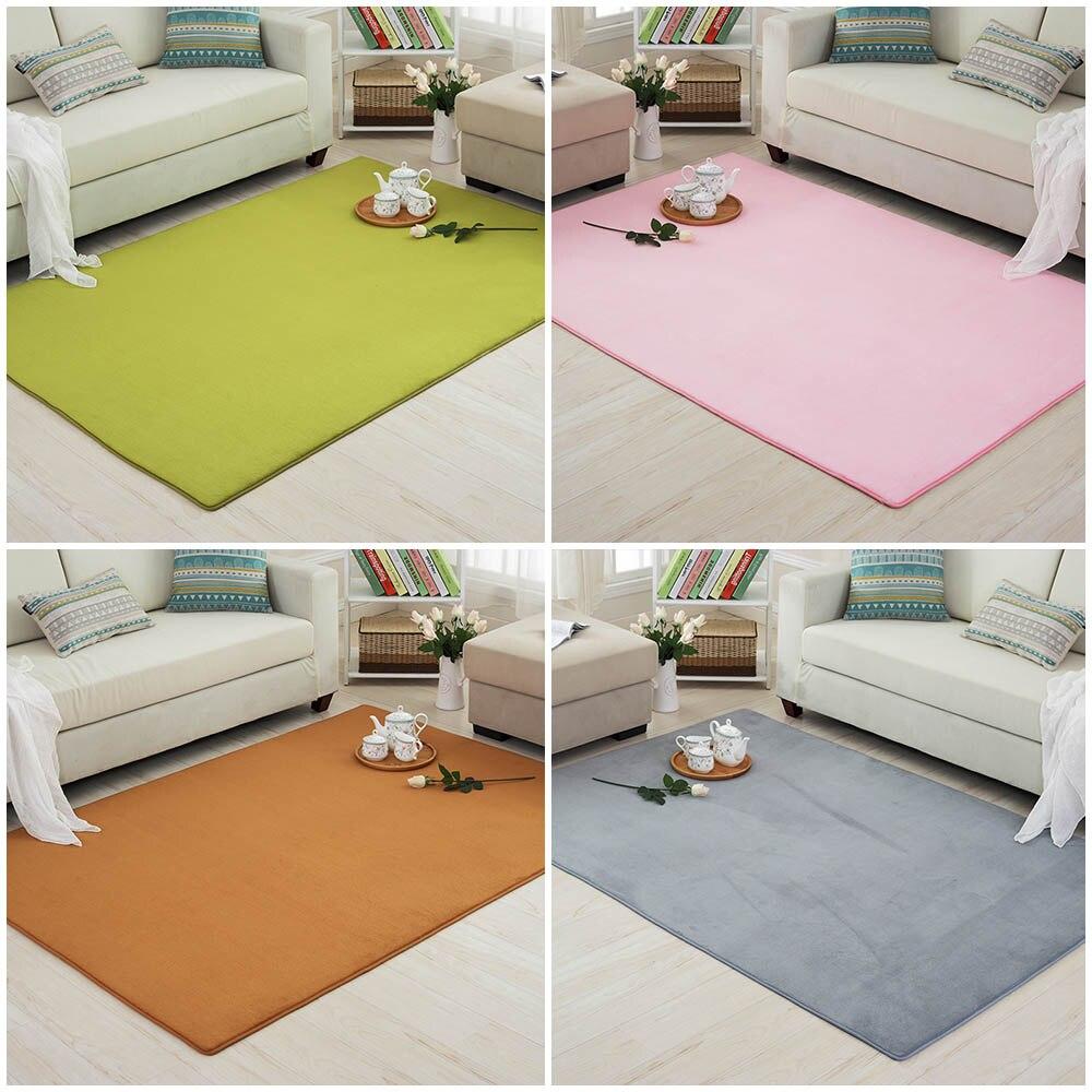 Grün Korallen Samt Teppiche Teppich für Wohnzimmer Moderne Küche Saugfähigen Gleitschutz Boden Matte Schlafzimmer Nicht-slip Teppich Hause eingang