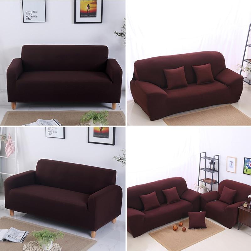 Housses de canapé élastiques extensibles de haute qualité pour salon housse de canapé en forme de L pour canapé d'angle 1/2/3/4 housse de canapé sectionnelle