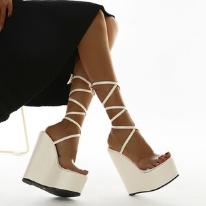 Flip Flop Chaussures Femme Platform Sandals 2021 Sandalia Feminina Summer Wedges Shoes Women Pumps Wedge High Heels Sandals