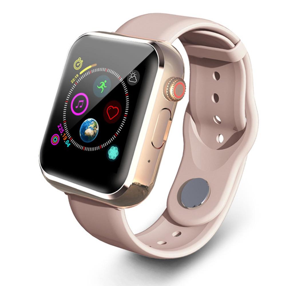2020 Dropshipping Fitness Bluetooth Smart Watch teléfono pantalla táctil relojes para Android IOS con alta eficiencia de procesamiento rápido