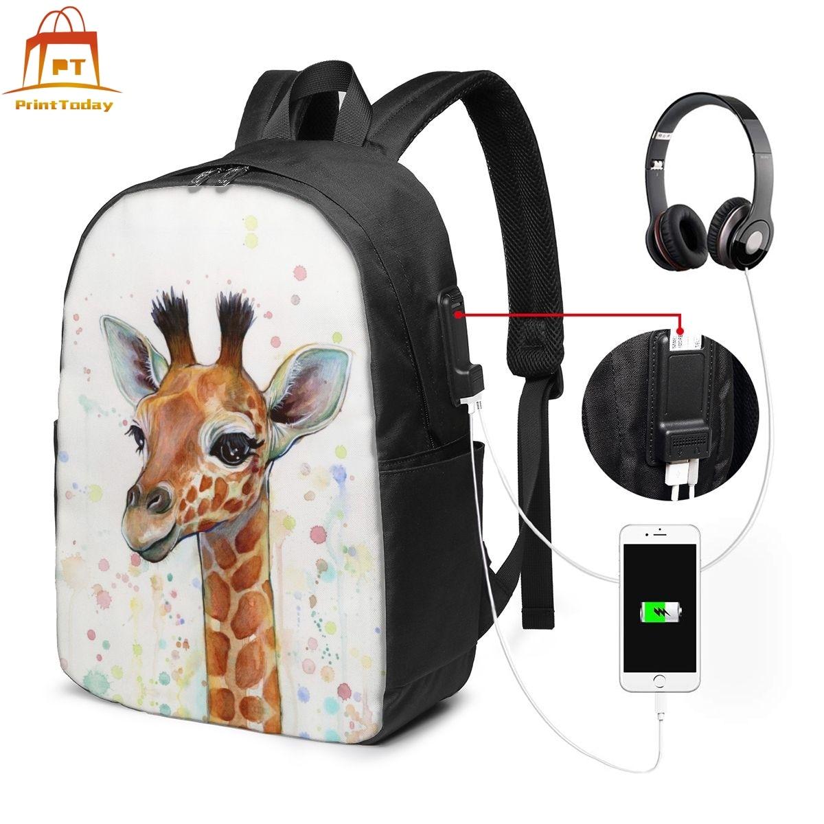 98 jirafa 571 bebé jirafa acuarela pintura decoración para dormitorio infantil 00