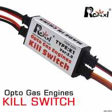 Rcexl Opto Gas Engine Kill Switch Shut Down Version 2.0 for RC Gasoline Airplane