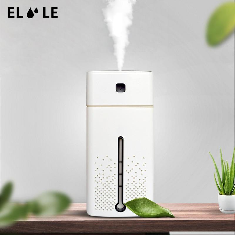 Eloole 1000 ml umidificador de ar para casa usb aroma difusor led backlight para escritório névoa maker presente umidificação refrescante