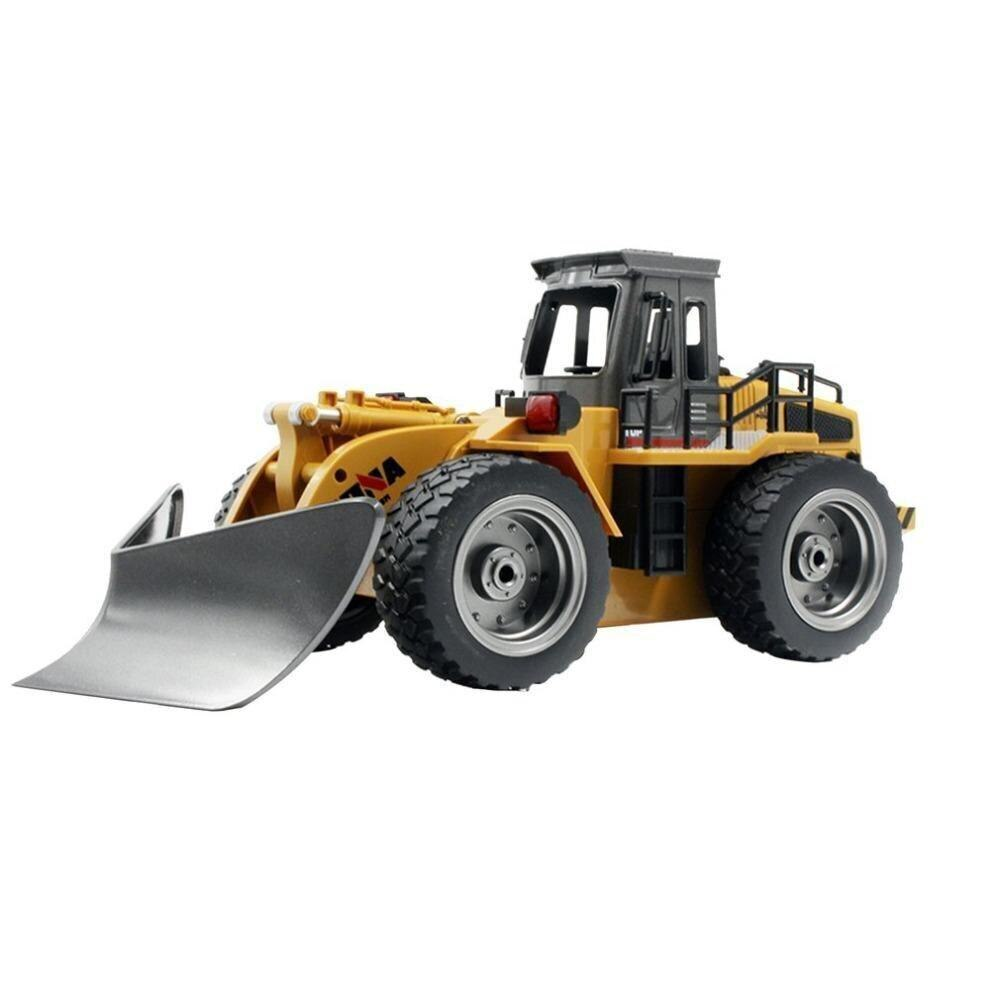 RCtown HuiNa 1586 6 Channel Full Functional Front Loader RC Remote Control Construction Toy Tractor with Lights Sounds 2.4Ghz X7 enlarge
