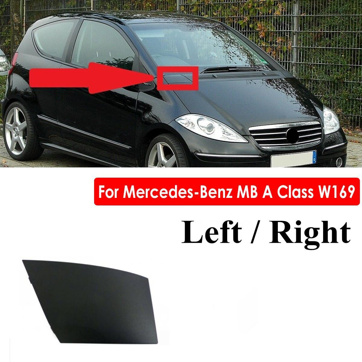 Cubierta izquierda/parte derecha del motor, cubierta de bisagra, tapa de drenaje de agua, protector de esquina para Mercedes para Benz MB A Class W169