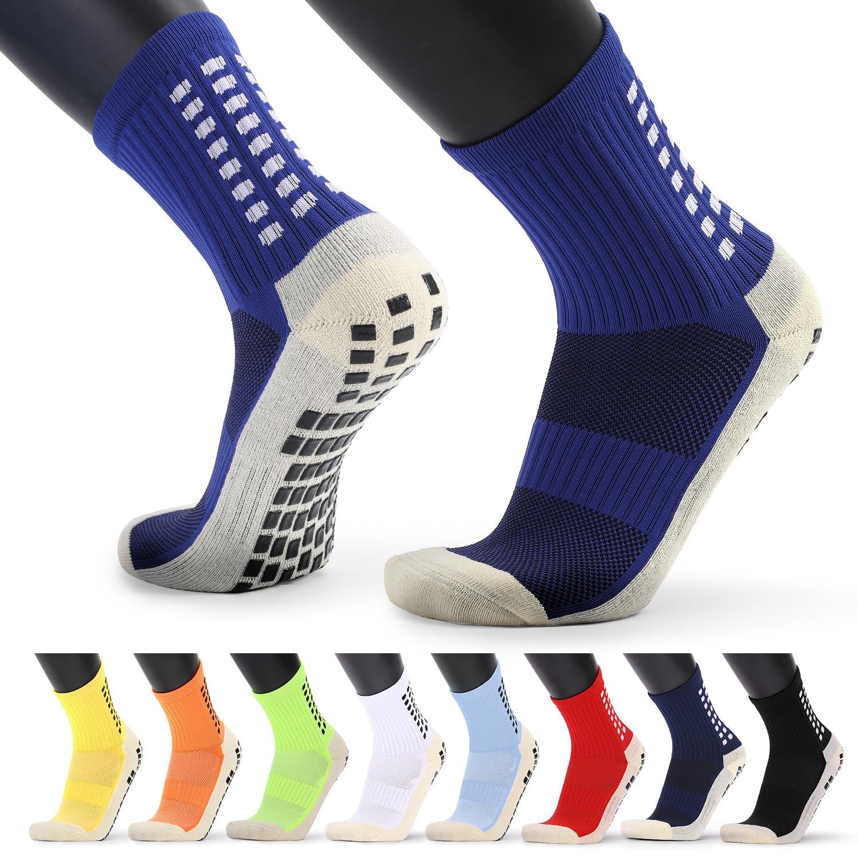 Футбольные носки, спортивные носки, Нескользящие баскетбольные Носки, антискользящие хлопковые футбольные носки унисекс, спортивные носки