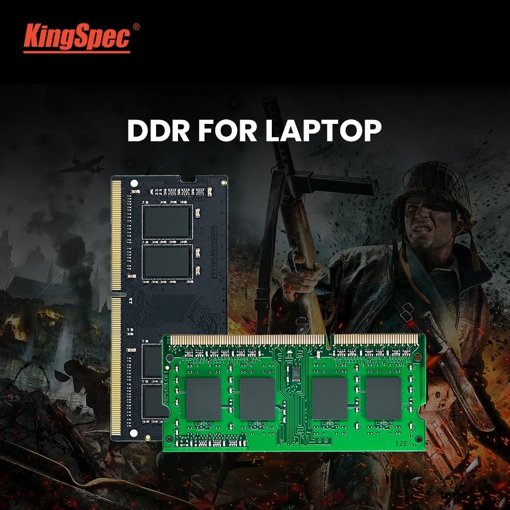 KingSpec memoria ram ddr4 4GB 8GB 16GB 2400MHz 2666 3200 RAM for Laptop Notebook Memoria RAM DDR4 1.2V Laptop RAM