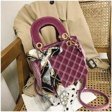 2020 Winter Luxury Flannel Crossbody Bag for Women Ladies Shoulder Clutch Messenger Bag Girls Travel Chain Handbags Party Purses