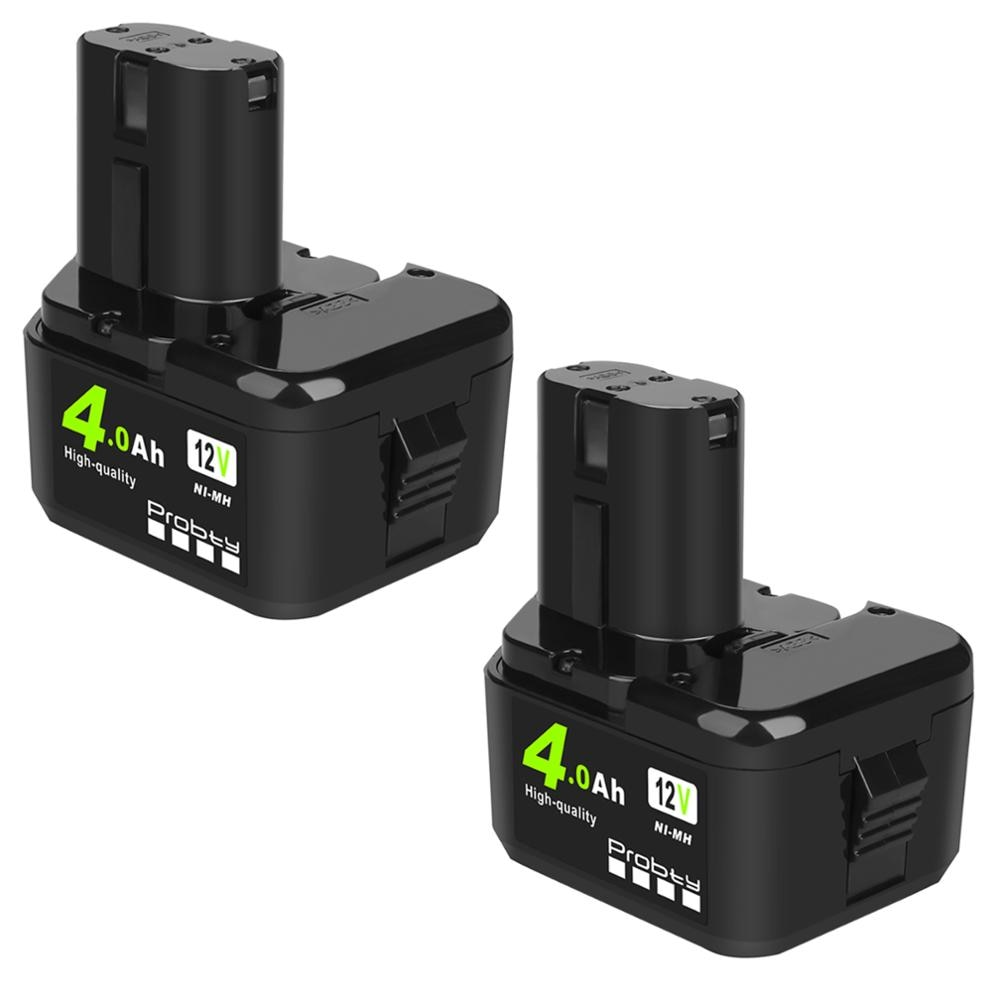 12V 4000mAh Ni-Mh Bateria Para Hitachi EB1214S 12V EB1220BL EB1212S WR12DMR CD4D DH15DV C5D
