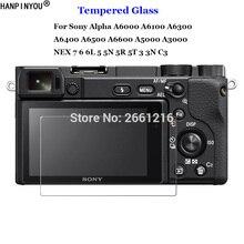Pour Sony ILCE-A6000 A6100 A6300 A6400 A6500 A6600 A5000 A3000 NEX 7 6 5 3 En Verre Trempé 9H 2.5D Caméra Film Protecteur Décran