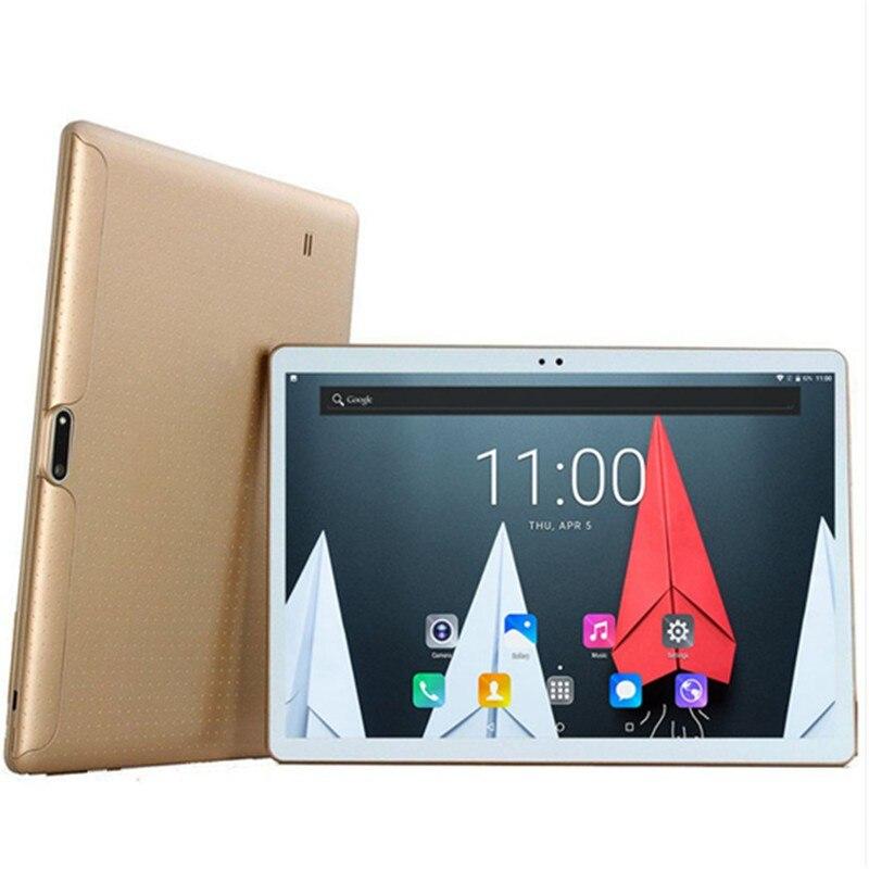 1280*800 IPS شاشة 10 بوصة الروبوت 8.0 اللوحي مع جوجل لعب 10 النواة 6G + 128GB 4G مكالمة هاتفية تبويب Wifi GPS بلوتوث اللوحي