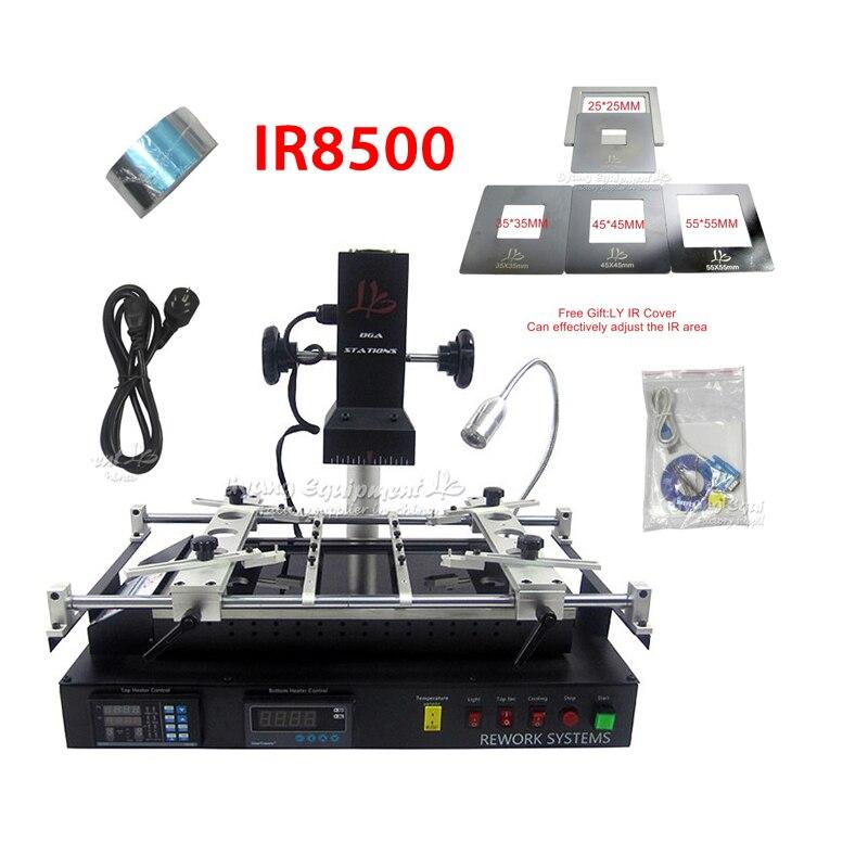 BGA Repair Rework Machine LY IR8500 V.2 IR BGA Soldering Station Motherboard Mobile Phone Chip Repairing RU and EU free tax