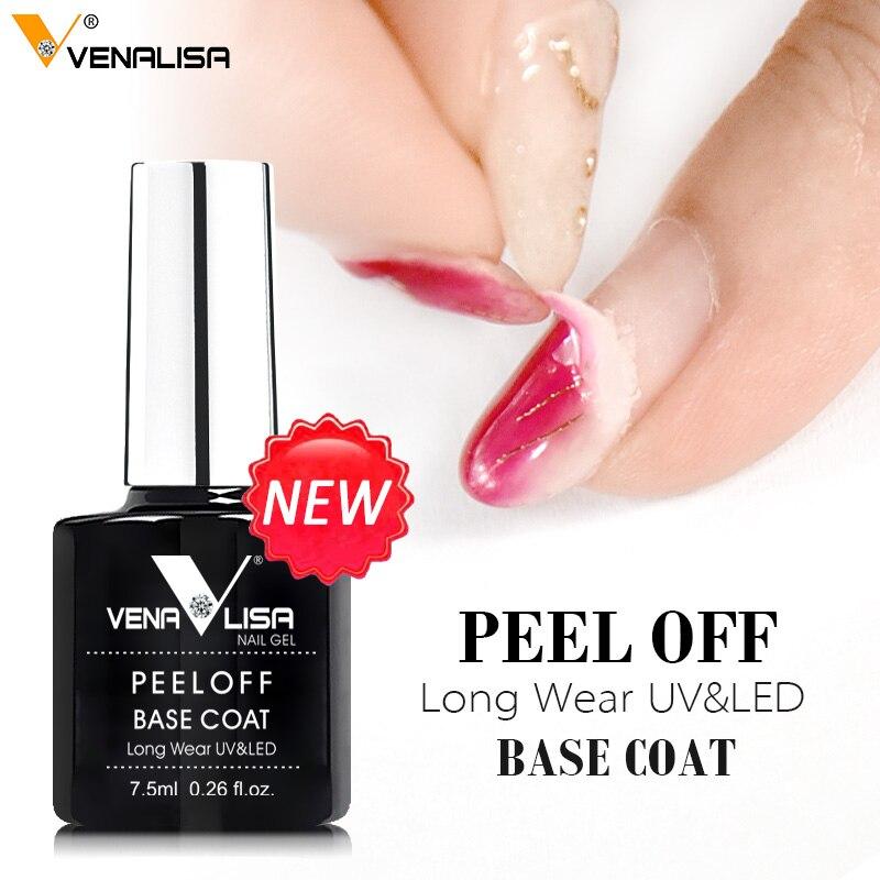 Гель-лак VENALISA для ногтей, удлиненное покрытие из закаленного стекла, эмалевый лак для ногтей