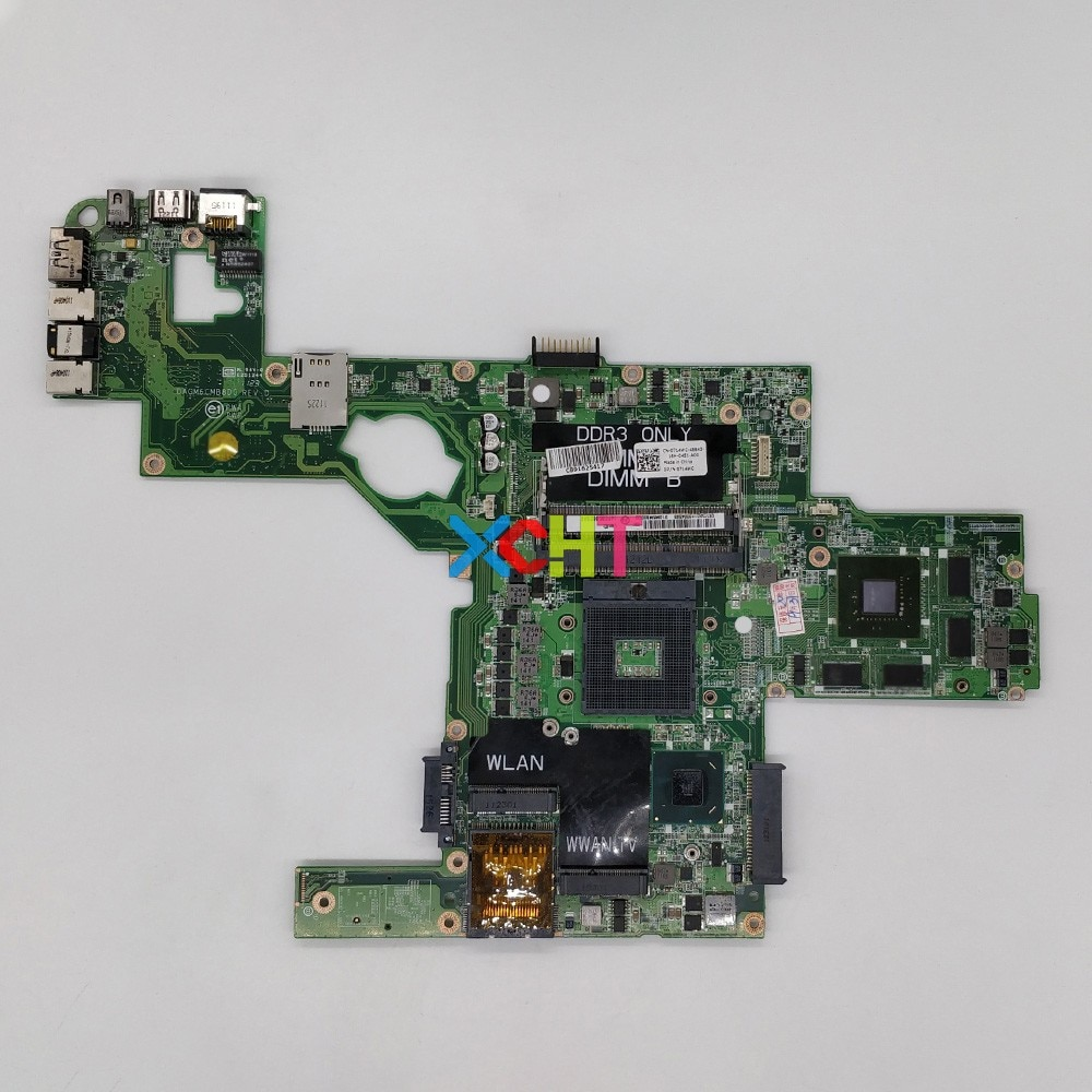 CN-0714WC 0714WC 714WC w GT540M/2G Graphics DAGM6CMB8D0 HM67 for Dell XPS L502X Laptop NoteBook PC Motherboard Mainboard Tested cn 00c5mh 00c5mh 0c5mh aap20 la b753p w i5 4210h cpu gtx970m gpu for dell m17x r2 notebook pc laptop motherboard mainboard