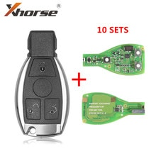 XHORSE VVDI BE Key Pro For Benz XNBZ01EN Remote Key Chip Improved Version V1.5 Can Choose Smart Key Shell 3 Button