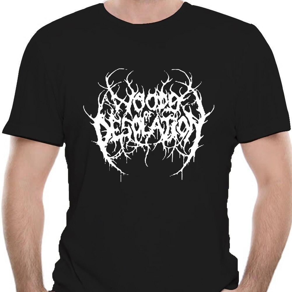 Camiseta negra para hombre de camiseta con logotipo de la banda de...
