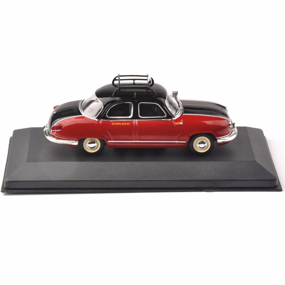 1/43 IXO fundición rojo modelo Taxi Panhard Dyna Z (París, 1953) vehículo coche de juguete de regalo de Navidad
