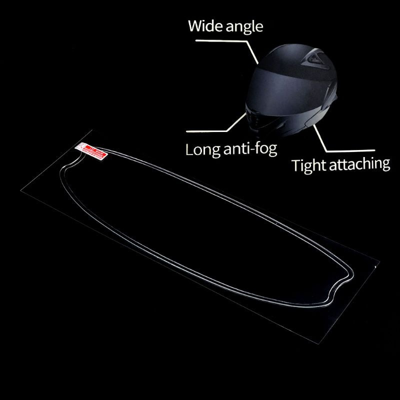 Anti-Fog Helmet Universal Lens Film For Motorcycle Visor Shield Fog Resistant Moto Racing Accessories enlarge